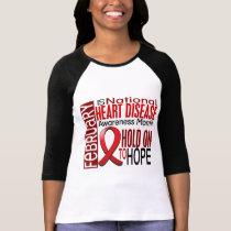 Heart Disease Awareness Month Ribbon I2.4 T-Shirt