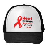Heart Disease Awareness Month Trucker Hat