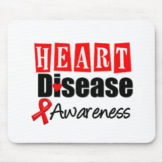 Heart Disease Awareness Mouse Mats