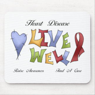 Heart Disease Awareness Mouse Pad