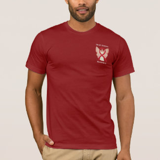 Heart Disease Awareness Ribbon Angel Custom Shirt