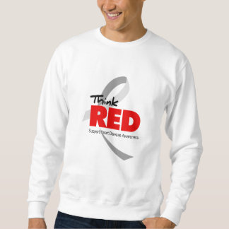 Heart Disease Awareness Sweatshirt