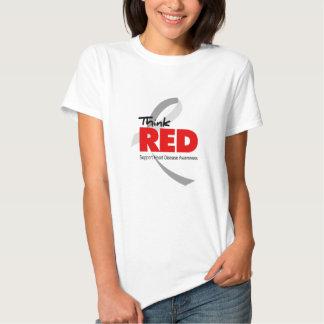 Heart Disease Awareness Tee Shirt
