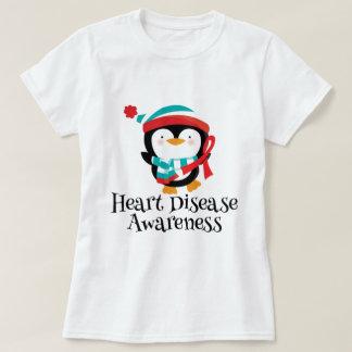 Heart Disease Awareness Womens T-shirt