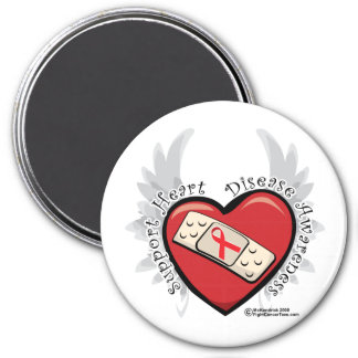 Heart Disease Band Aid Magnet