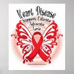 Heart Disease Butterfly 3 Poster