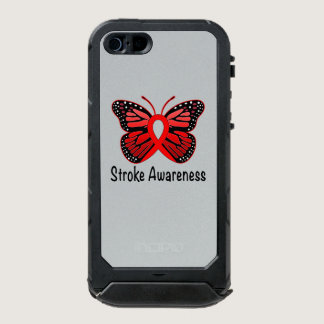 Heart Disease Butterfly Awareness Ribbon Waterproof Case For iPhone SE/5/5s