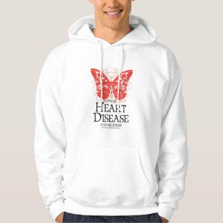 Heart Disease Butterfly Hoodie
