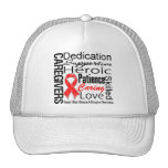 Heart Disease Caregivers Collage Trucker Hat