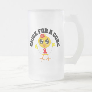 Heart Disease Chick For A Cure Mug