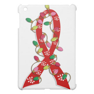 Heart Disease Christmas Lights Ribbon Cover For The iPad Mini