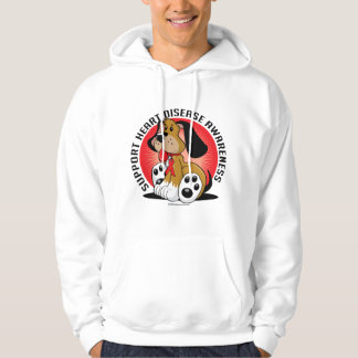 Heart Disease Dog Hoodie