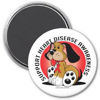 Heart Disease Dog Magnet