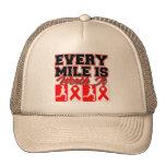 Heart Disease Every Mile is Worth It Trucker Hat