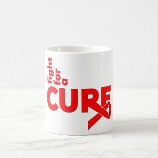 Heart Disease Fight For A Cure Mug