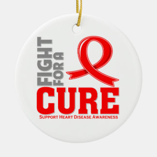 Heart Disease Fight For A Cure Christmas Ornaments