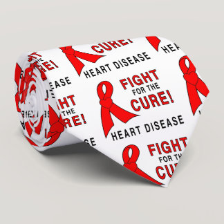 Heart Disease Fight for the Cure Neck Tie