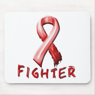 Heart Disease Fighter Mouse Pad