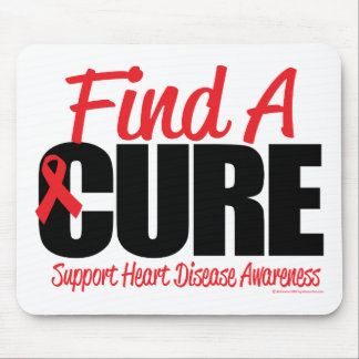 Heart Disease Find A Cure Mouse Pad
