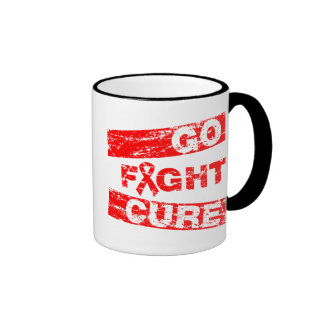 Heart Disease Go Fight Cure Mug