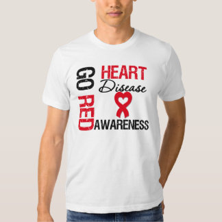 Heart Disease GO RED Shirt
