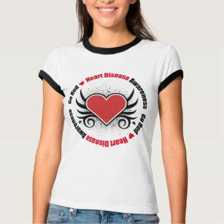 Heart Disease GO RED T Shirt