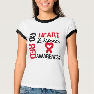 Heart Disease GO RED T-shirt