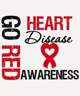 Heart Disease GO RED Tees