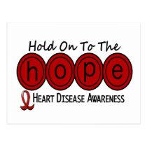Heart Disease HOPE 6 Postcard