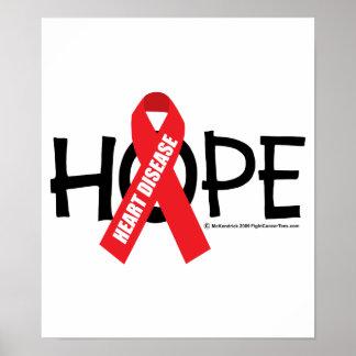Heart Disease Hope Posters