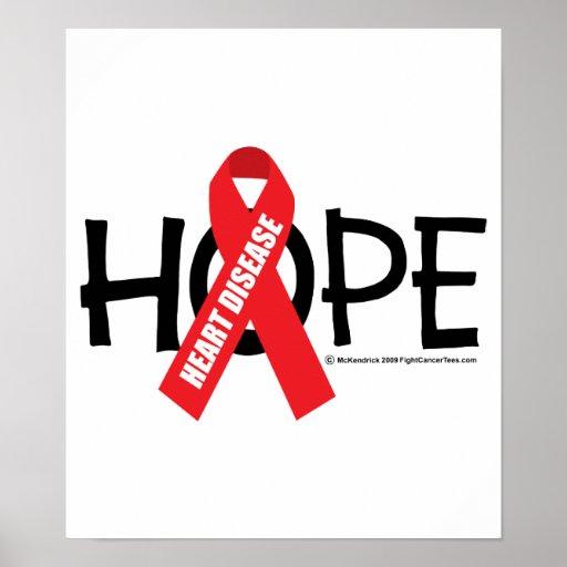 Heart Disease Hope Poster