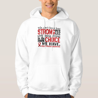 Heart Disease How Strong We Are Hoodie