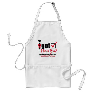 Heart Disease I Got Checked Have You Adult Apron