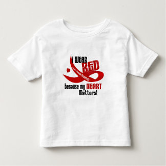 Heart Disease I Wear Red For ME 33 Toddler T-shirt