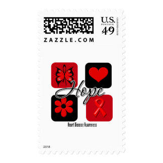 Heart Disease Love Inspire Awareness Postage Stamps