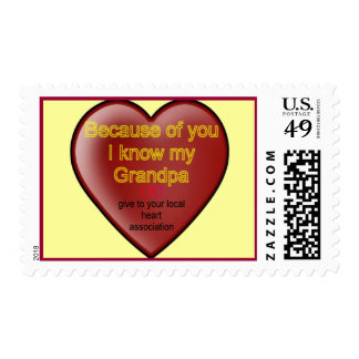 Heart Disease Postage