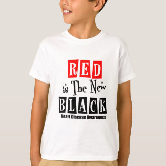 Heart Disease Red is The New Black T-Shirt