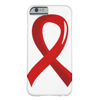 Heart Disease Red Ribbon 3 Barely There iPhone 6 Case