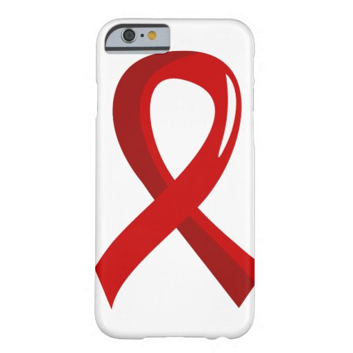Heart Disease Red Ribbon 3 iPhone 6 Case