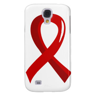 Heart Disease Red Ribbon 3 Samsung Galaxy S4 Case