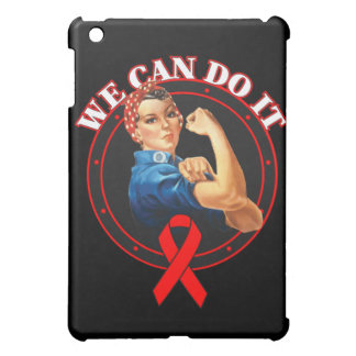 Heart Disease - Rosie The Riveter - We Can Do It Cover For The iPad Mini