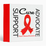 Heart Disease Support Advocate Cure Binder
