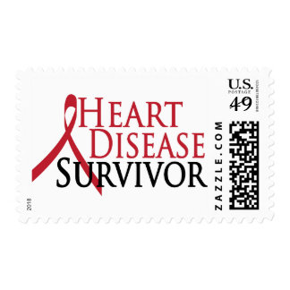 Heart Disease Survivor Postage