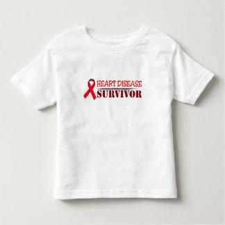 Heart Disease Survivor Toddler T-shirt