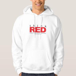 Heart Disease THINK Red Hoodie
