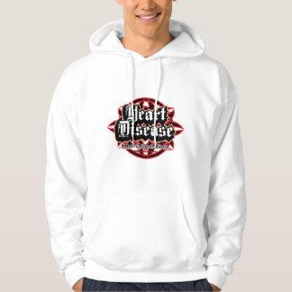 Heart Disease Tribal Hoodie
