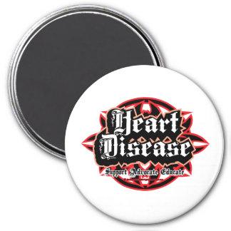 Heart Disease Tribal Magnet