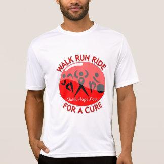 Heart Disease Walk Run Ride For A Cure Shirts