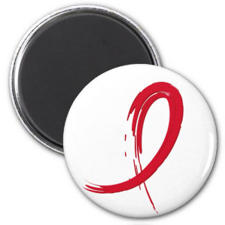 Heart Disease's Red Ribbon A4 Magnet