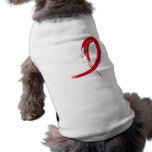 Heart Disease's Red Ribbon A4 Pet Clothes
